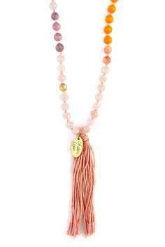 Chan Luu - Neon Orange Mix Beaded Tassel Necklace, $190.00 (http://www.chanluu.com/necklaces/neon-orange-mix-beaded-tassel-necklace/)