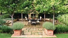 RX_1209 Sunken Terrace with Link to Main Gallery Backyard Layout, Backyard Patio Designs, Small Backyard Landscaping, Patio Ideas, Backyard Ideas, Oasis Backyard, Shade Landscaping, Modern Landscaping, Small Patio
