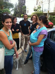 The UX team welcomes spends time with Anat and her new daughter, Rotem