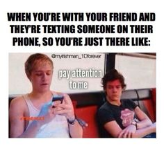 """This is me and my best friend.. I'll be at her house and she will literally FaceTime someone when I'm right there and I'm just like """"bruh"""""""