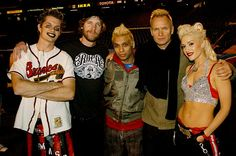 No Doubt with Sting, Super Bowl 2003...Awesome performance! (Gwen Stefani) Gwen is even more beautiful in person if that's possible.