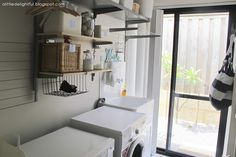 a little delightful: more laundry organisation + my favourite favourite containers!