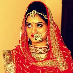 Rajasthani Bride With Gorgeous Nathni
