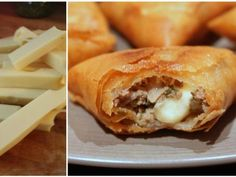 Cheese and minced meat bricks - décembre 2017 - Meat Recipes Empanadas, Samosas, Meat Recipes, Easy Healthy Recipes, Tapas, Algerian Recipes, Food Porn, Ramadan Recipes, Iftar