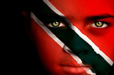 Trinidad and Tobago Flag Boy Capital: Port of Spain Trinidad Carnival, Caribbean Carnival, Caribbean Flags, Trinidad And Tobago Flag, Soca Music, Port Of Spain, Flag Face, We Are The World, Island Girl
