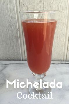 Easy Michelada Cockt
