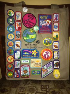 What to do with you old GS pins n patches