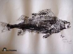 Gyotaku de perche