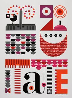 Maria Holmer Dahlgren for Tate Modern, commissioned by Formation    6 Colour Screenprint on Somerset Paper