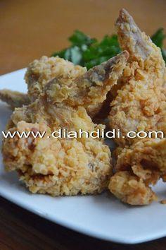 Diah Didi's Kitchen: Ayam Goreng Tepung Krispi..Versi Baru