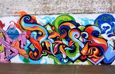 Detroit Graffiti Neighborhood Art | Grafitti art in Detroit #Detroit #NeighborhoodArt #StreetArt