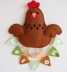 Why am I pinning a felt chicken, you ask. I am pinning this because I am running out of things to make people, and unfortunately I believe my friend Ben Parrish will like this.