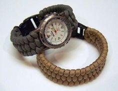 DIY Watch Weave Bracelet
