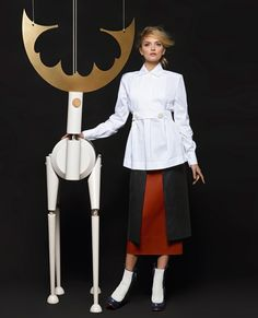 #GLAMBITIONRETRO | Lily Donaldson by Karl Lagerfeld for Fendi FW15 campaign | The Glambition