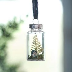 Winter Vignette Ornament in HOLIDAY TRIM THE TREE Ornaments Botanical at Terrain