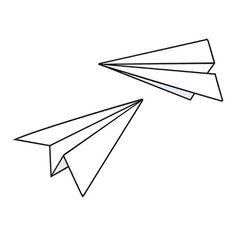 Possible tattoo idea??? Paper planes... Cute...
