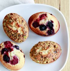 Friands always go down a treat. I like to trick mine up with berries, nuts and chocolate chips. Gf Cookie Recipe, Cookie Recipes, Gluten Free Cakes, Gluten Free Baking, Friands Recipe, Finger Food Desserts, Finger Foods, Easy Cake Decorating, Basic Recipe