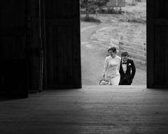 Foggy Nova Scotia Wedding