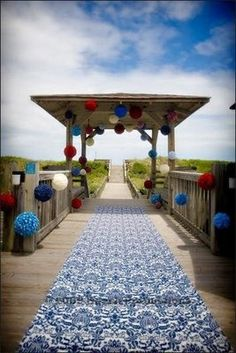 patriotic or 4th of July wedding