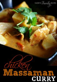 Massaman, Masuman, Masumun, Matsaman... However you spell it, this savory Thai curry dish is delicious!