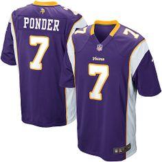 22 for Nike NFL Youth Minnesota Vikings 7  Christian Ponder Purple Jerseys.  Buy Now d36b54994