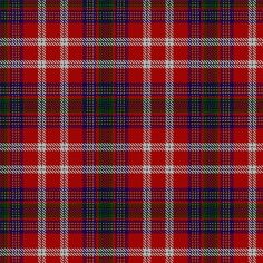 McKee Tartan designed by Kelly Long as a tribute to her grandmother, Dot McKee, using colors which reflect the MacKay tartan and the Texas flag. The 3 yellow stripes represent the 3 US states in which the designer's McKee ancestors lived before settling in Texas, and the blue represents the Atlantic Ocean. This tartan is used exclusively for immediate/extended family of Woodrow and Perlena (Dot) McKee Ables.
