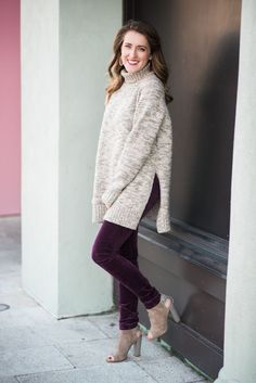 Oversized sweater | Sweater weather | Winter fashion | It's All Chic To Me