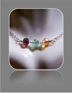 Mothers day giftbirthstone necklaceMother by SpecialMomGifts