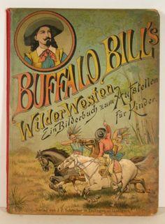 1891 Buffalo Bill Wild West Chromo Children's Pop Up Book by Lothar Meggendorfer   eBay