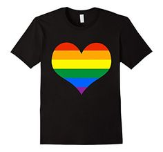 Mens Gay Pride Rainbow Heart Flag T Shirt LGBTQ  2XL Blac... https://www.amazon.com/dp/B071761P57/ref=cm_sw_r_pi_dp_x_PpArzb7WWS33K