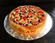 25 Pizza Cakes For The Best Pizza Party Ever