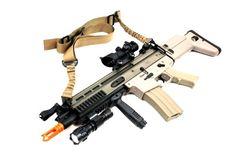 "CUSTOM Airsoft DBoys Full Metal M4 TDW-RAS TAN AEG Rifle ""DESERT STORM"" w/ High-Performance Metal Gearbox - NEWEST ENHANCED PRODUCTION RUN MODEL w/ Battery & Charger PKG"