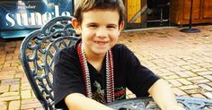 the smile experiment. 6yo orphan on mission to collect smiles from strangers <3