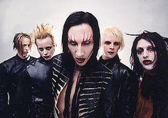 Marilyn Manson - Marilyn Manson (Brian Warner), Twiggy Ramirez (Jeordie White), Fred Sablan, Jason Sutter.