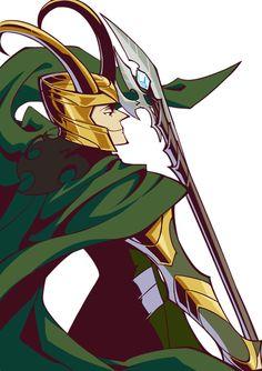 <3 Loki fanart