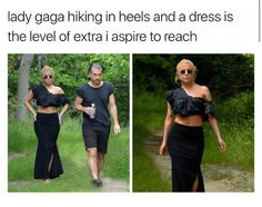 Only Lady Gaga can pull this off. June 22, 2017