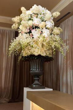 Overflowing florals. Fabulous!