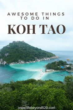 Koh Tao is one of our favorite islands in Thailand.  Though it's famous for diving, we loved..spent snorkeling and swimming in the crystal clear waters, but we also managed to find beautiful viewpoints around the small island...looking for a place to relax, great swimming, Thailand, our favorite things to do in Koh Tao.#thailand #travel #kohtao