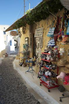 Little Shop in Pyrgos, Santorini