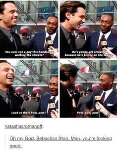 I've never related to mackie so much honestly