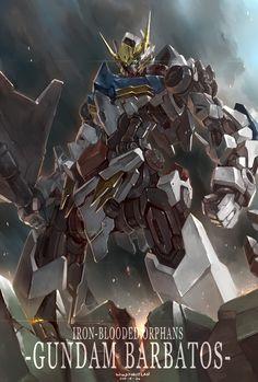 gundam Part 1 - - Anime Image Arte Gundam, Gundam Wing, Gundam Art, Gundam Toys, Anime Manga, Anime Art, Barbatos Lupus, Blood Orphans, Gundam Iron Blooded Orphans