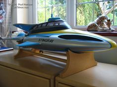 Paul Harrison's Stingray Thunderbirds Are Go, Underwater City, Tv Themes, Garage Kits, Classic Sci Fi, Submarines, Model Kits, Sci Fi Fantasy, Spaceships