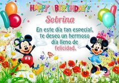 felicitar a una sobrina por su cumpleaños mikey