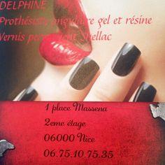 Le Nailbar de Delphine #Prothesisteongulaire #Nice06 #FrenchRiviera #Nailpolish #manucure #Vernispermanent #Shellac