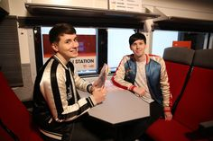 THE INTERNET IS HERE! Welcome back to Space London danisnotonfire & AmazingPhil #StandUpwithYT @StandUp2C (2016)
