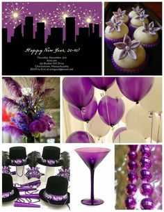 Purple New Years Eve...