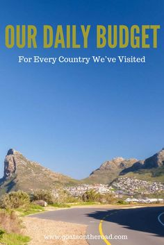 Our Daily Budget For Every Country We've Visited  Daily Travel Budget   Travel Budgeting   Travel Tips   Digital Nomad Lifestyle