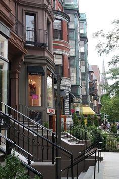 Newbury Street,Boston - best shopping