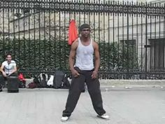 Street Dance in Paris  ...big fun!
