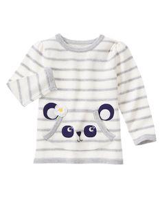 Striped Panda Sweater